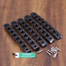 Black Door Handle Grab Tailgate Moulding Bar Cover For Jeep Wrangler JK 2007-17