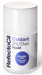 Refectocil Oxidant 3% 10vol. Liquid Developer for Eyebrow and Eyelash Tint 100ml