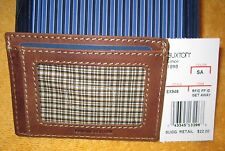 BUXTON Mens Expedition RFID Blocking Leather Slim Minimalist Front Pocket Wallet