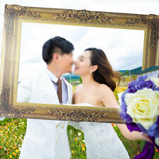Chic Photo Booth Props Antique Paper Frame Large Picture Frame Home Wedding