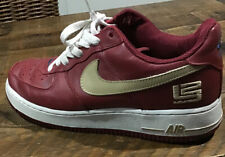 Nike Air Force 1 LEBRON JAMES LBJ LE US8 UK 7 USED VINTAGE SAFARI JORDAN SUPREME
