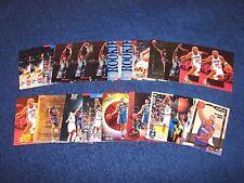 GRANT HILL DETROIT PISTONS DUKE BLUE DEVILS RC ROOKIE LOT OF 22 CARDS (817-16)
