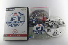 PC F1 CHAMPIONSHIP SEASON 2000 COMPLETO PAL ESPAÑA