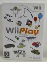 Wii Play Nintendo Wii Game Near Mint Condition Complete PAL UK Fast Free Postage