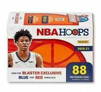 2020-21 Panini NBA Hoops Blaster Box 88 Cards Brand New Factory Sealed