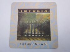 Beer Coaster ~*~ INFUSIA: The Hottest Teas on Ice ~ See STORE for 1000s More ++
