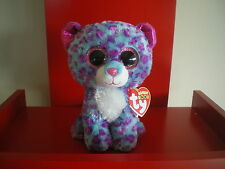 Ty Beanie Boos DREAMER leopard 6 inch NWMT. Justice Exclusive.LIMITED QUANTITY.