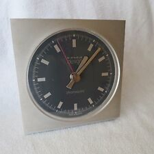 Kienzle Design chronoquartz Tischuhr Uhr Alu/schwarz 14x15cm made in Germany