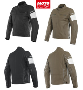 Dainese San Diego Perforated & Non-Perforated Leather Jacket sz 48 to 56 Euro