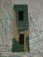 US 1st Lieutenant Rank collar patch on ERDL Vietnam