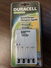New Duracell Quick Rapid Charger for Rechargeable NiMh NiCd Aa Aaa