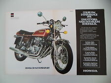 advertising Pubblicità 1977 MOTO HONDA CB 750 FOUR SUPER SPORT