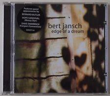 BERT JANSCH / EDGE OF A DREAM / FOLD OUT LYRIC SHEET / HYPE STICKER / SANCD 136