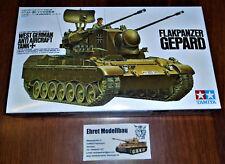 german  Bundeswehr Flakpanzer Gepard Anti Aircraft Tank 1:35 Tamiya 35099