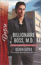 Billionaire Boss, M.D. (The Billionaires of Black Castle) by Gates, Olivia, Good
