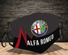 Alfa Romeo Logo Stretch To Fit 3D Mask