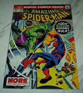 Amazing Spider-man #120 NM/MT 9.8 OW/W Unrestored 1973 Marvel Hulk battle cover
