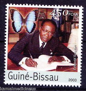 Guinea Bissau 2003 MNH, Leopold Senghor, 1st president of Senegal, Poet