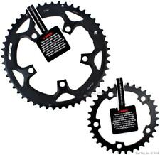 FSA Pro 50/34T 110mm BCD Road Bike Chainring Set fits 10/11-speed SRAM/Shimano