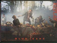 RECLAME 0022 REPLAY fall-winter 2006-2007 BLUE JEANS promocard cartolina