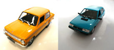 Set of 2 model cars Zaporożec ZAZ 966 + Polonez Caro  - 1:43 DIECAST LOT CAR