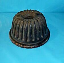 Ancien Moule à KOUGLOF 24,5cm céramique craquelé d'origine Fendu Vintage