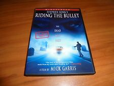 Stephen King's Riding the Bullet (DVD, Widescreen 2005) David Arquette Used