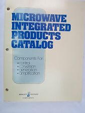 Microwave Integrated Products Catalog-1979- Hewlett Packard Components