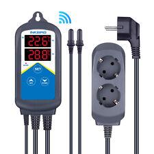 EU Plug Inkbird WiFi Digital Temperature Controller 306A 220V Heating Thermostat