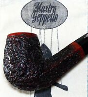 New & Unsmoked Geppetto by Ser Jacopo Bent Billiard Diamond Shank - Gepetto Pipe