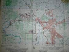 RARE MAP - 6231 iv - NUI BA DEN - TAY NINH - Vietnam War - BLACK VIRGIN MOUNTAIN