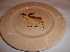 """Home china Northwoods Collection pattern Salad Plate 8"""" Moose"""