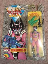 Bionic Six Madame-O Vintage Figure Ljn Toys Ltd. French/English 1986