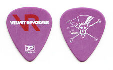 Velvet Revolver Slash Signature Purple Guitar Pick - 2005 Tour GNR