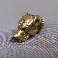 Pit Bull Bronze Paracord Leather Knife Lanyard Beads Bracelets Jewelry Making***
