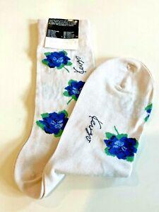 Kenzo Paris Womens Italian Woven Cotton Blend Ankle Sock