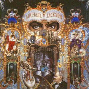 Michael Jackson Dangerous reissue 180gm vinyl 2 LP NEW/SEALED