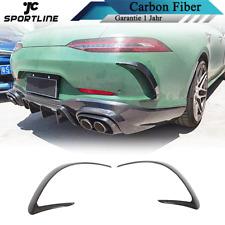 Carbon Hinten Flossen Flaps Splitter Canards für Mercedes AMG GT X290 43 50 53
