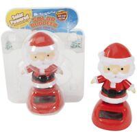 Christmas Car Dashboard Solar Dancing Santa Wobbler Display Decoration Novelty