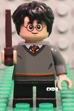 Lego 75954 CoS Hogwarts Great Hall HARRY POTTER short legs with wand minifigure!