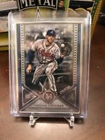 2019 Topps Museum Collection Freddie Freeman Silver Framed Auto #8/15 MVP