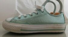 Girls Converse Chuck Taylor All Star Stingray Metallic Low Size: 11 Color: Green