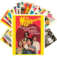 Postcards Pack [24 cards] Monkees Rock Music Posters Vintage Photos CC1218