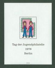 Block G77 Special sheet 1978 Germany Berlin Youth Philately