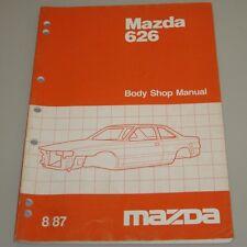 Werkstatthandbuch Karosserie Mazda 626 Typ GC Limousine + Coupe Body Shop Manual