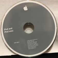 APPLE iPod and iPod Mini Install CD 2Z691-4695-A OEM 2004 Software