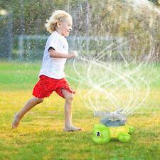New ListingSpray Sprinkler for Kids Outdoor Water Toys Gift Spinning Turtle Spray for Yard