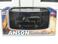 Cadillac Escalade SUV black ANSON collectibles MIB 1:43 n lincoln jeep
