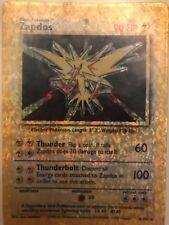 Pokemon card Rare vintage Zapdos 1999 wizard of the coasts