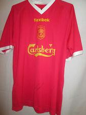 Liverpool 2001-2002 Chris Kirkland Signed Football Shirt with COA  /19745